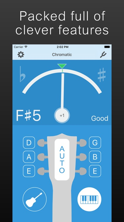 Precision Guitar Tuner screenshot-3