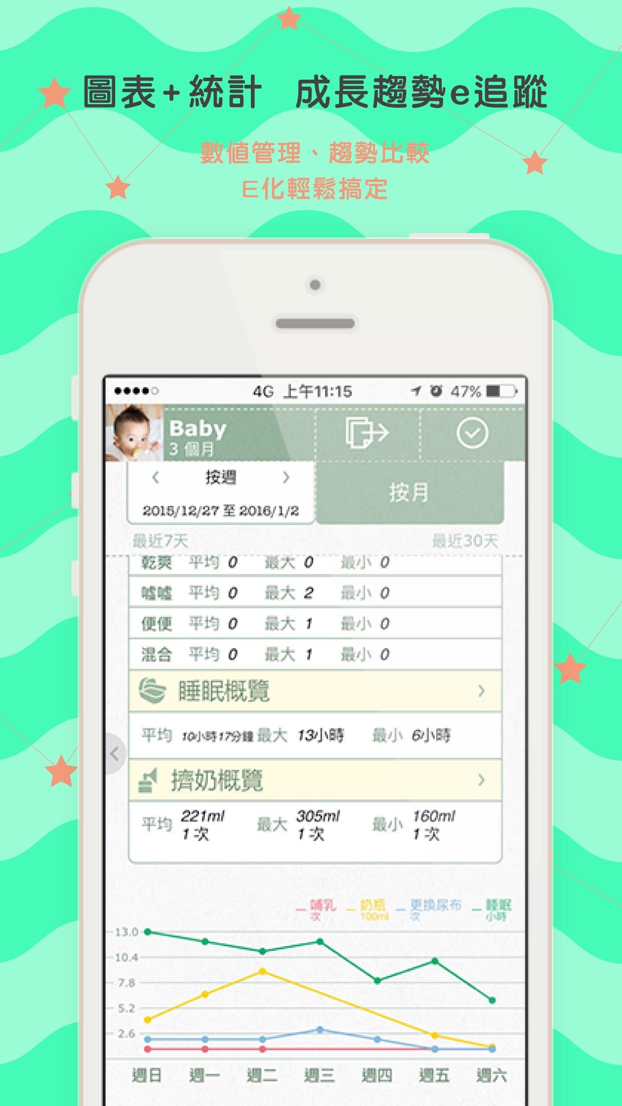 寶寶全記錄專業版 Screenshot