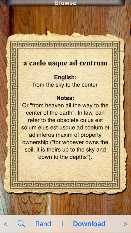Latin Phrases screenshot-0