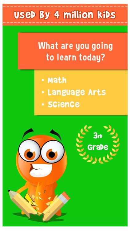 iTooch 3rd Grade App   Math, Language Arts and Science