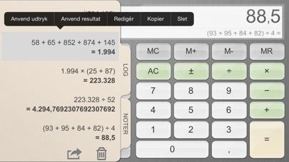 Screenshot for Lommeregner. in Denmark App Store