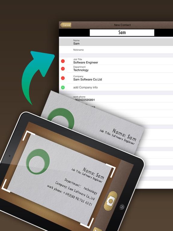Screenshot #2 for SamCard HD Pro