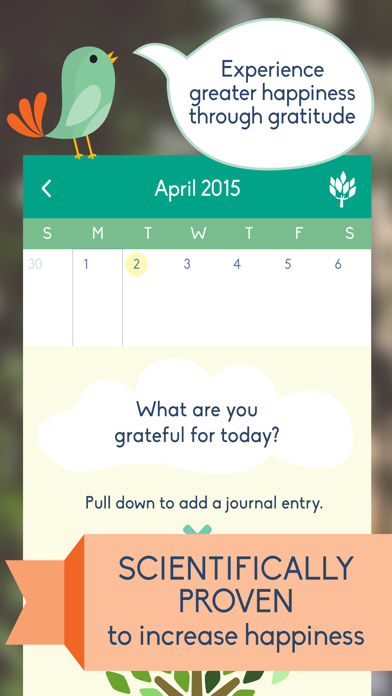 Gratitude Journal - Daily Diary and Mood Tracker for a
