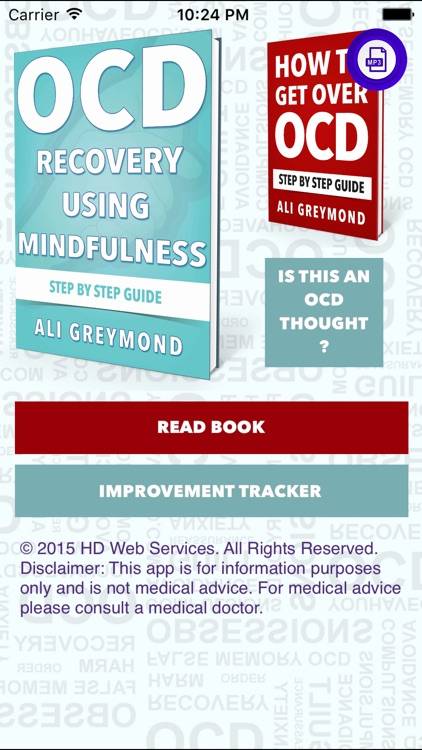 OCD and Mindfulness.