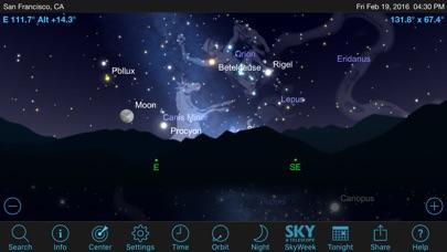Screenshot #1 pour SkySafari 5