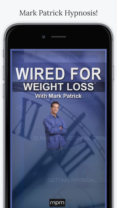 Mark Patrick Hypnosis Wired For Weight Loss App | App Price Drops