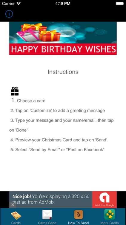 Happy Birthday Greeting Cards Party Invitation Ecards