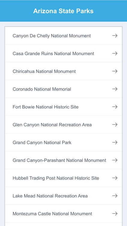 Arizona State Parks & National Parks