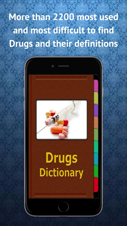 Drugs Dictionary - Drugs Descriptions