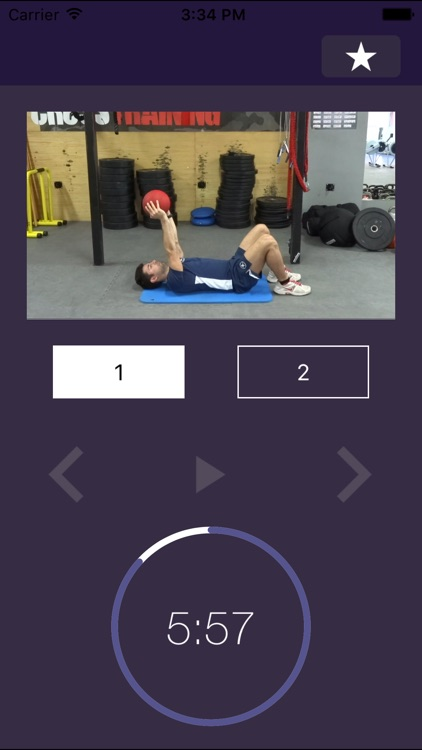 7 min Medicine Ball Workout: High Intensity Interval Training Exercises - Full Body Workouts with Gym Ball Exercise Plan screenshot-3