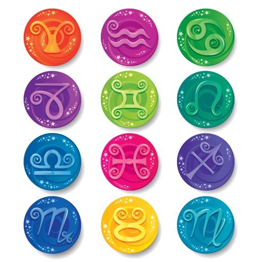 Celebrity Horoscope Button