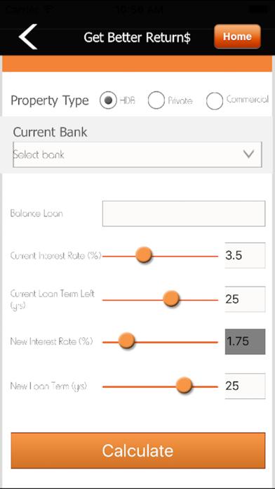Intrepid Financial Budget Calculator screenshot three