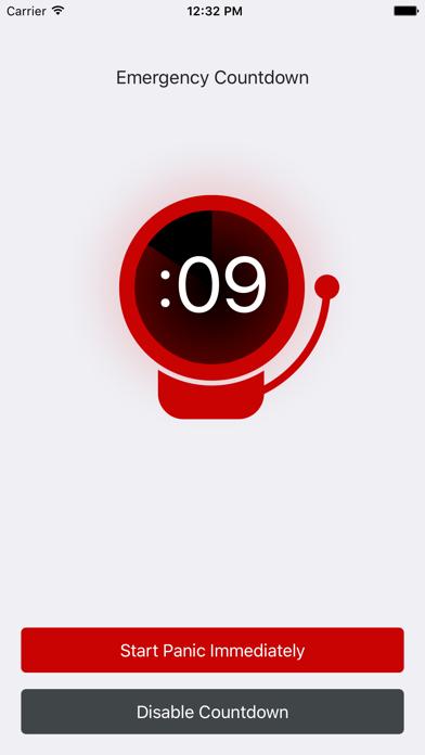 Panic Button (Emergency Locator) screenshot four