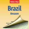 Бразилия (Амазонка). Туристическая карта.