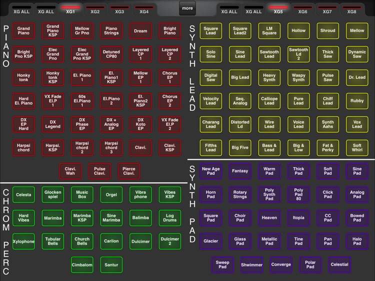 MDXG: XG Sound Set Controller screenshot-2