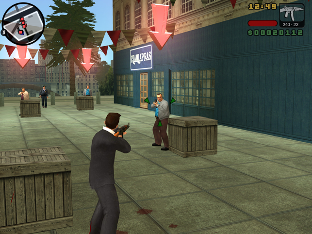 ‎GTA: Liberty City Stories Screenshot