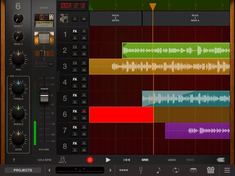 AmpliTube Jimi Hendrix™ for iPad screenshot-4