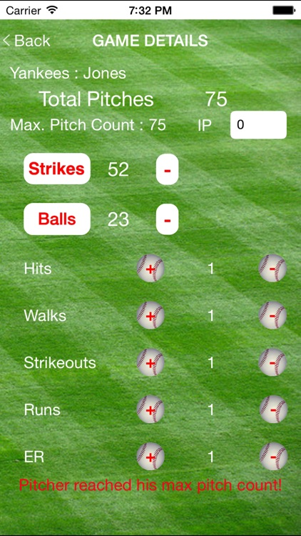 Pitch Counter Deluxe screenshot-3
