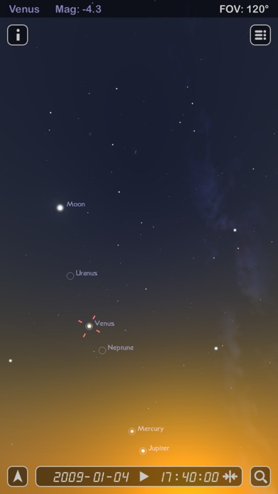 Star Rover - Stargazing and Night Sky Watching Screenshot