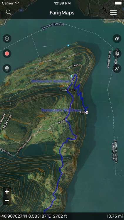 FarigMaps - GPS Tracks for Outdoor, Hike, Trek & Bike screenshot-0