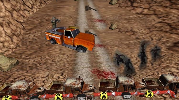 Road Zombie Killer Games screenshot-4