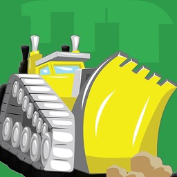 Kids Puzzles - Trucks Diggers and Shadows - Early Learning Cars Shape Puzzles and Educational Games for Preschool Kids