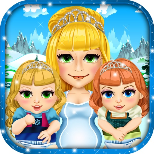 Frozen Mommy's Ice Baby Salon - beauty queen wedding spa & princess make-up games for kids!