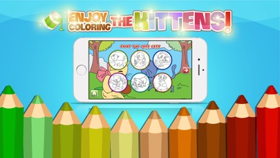 Creative Cute Cats For Coloring