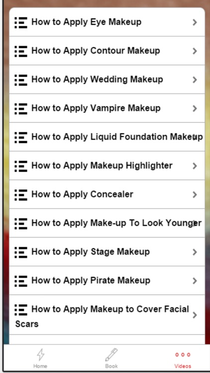 Makeup Ideas - Learn How to Put on Makeup screenshot-4