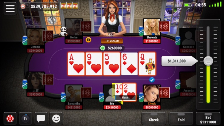 Boqu Texas Hold'em Poker - Free Live Vegas Casino