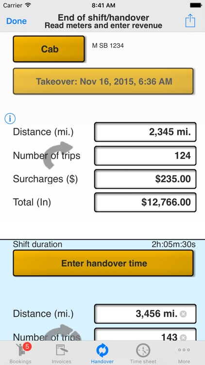 Taxi Data Manager - Driver App screenshot-1