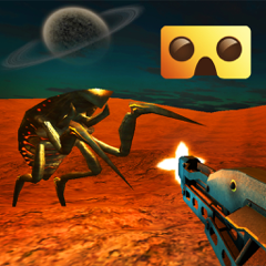 Alien VR Shooter : VR Game For Google Cardboard