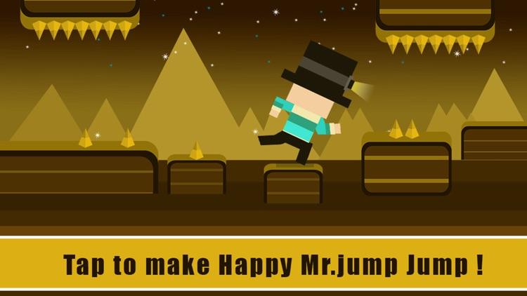 Happy Mr Jump Night Mode - Endless Arcade Running Game screenshot-3