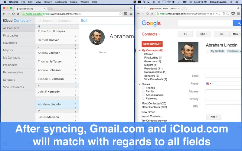 Synctastic for Google Gmail Screenshots