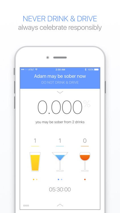 Gage – Blood Alcohol Content Calculator with BAC Timer & Sobriety Tracker screenshot-4