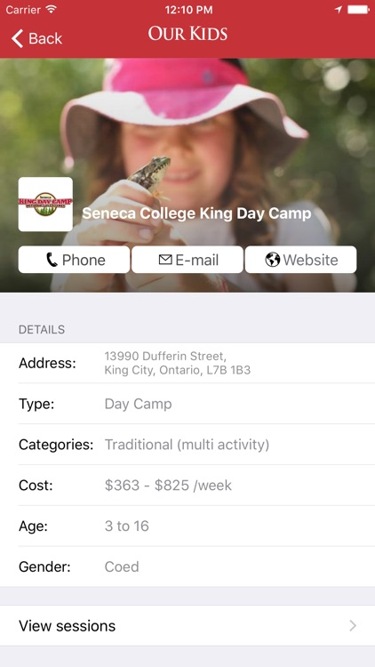 Our Kids: Find Schools & Camps screenshot-4