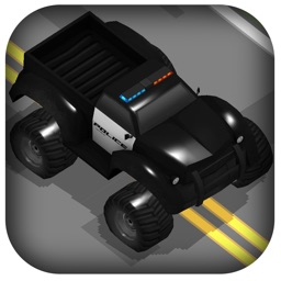 3D Zig-Zag  Offroad Cop Car -  On Furious Highway Fast Street Game