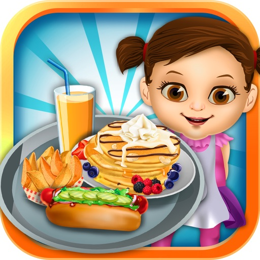 Dina's Food Lunch Maker Salon - Dessert Cake Making & Pancake Cooking Games for Girls & Boys!