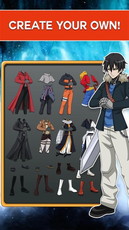 """ Manga Hero Transform "" : The Anime Boy of Fairy tail Edition Dress up screenshot-3"