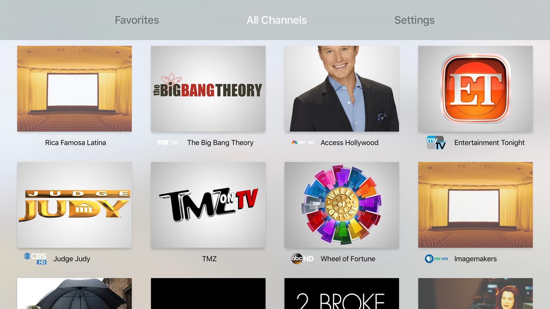 Channels — Live TV screenshot 3