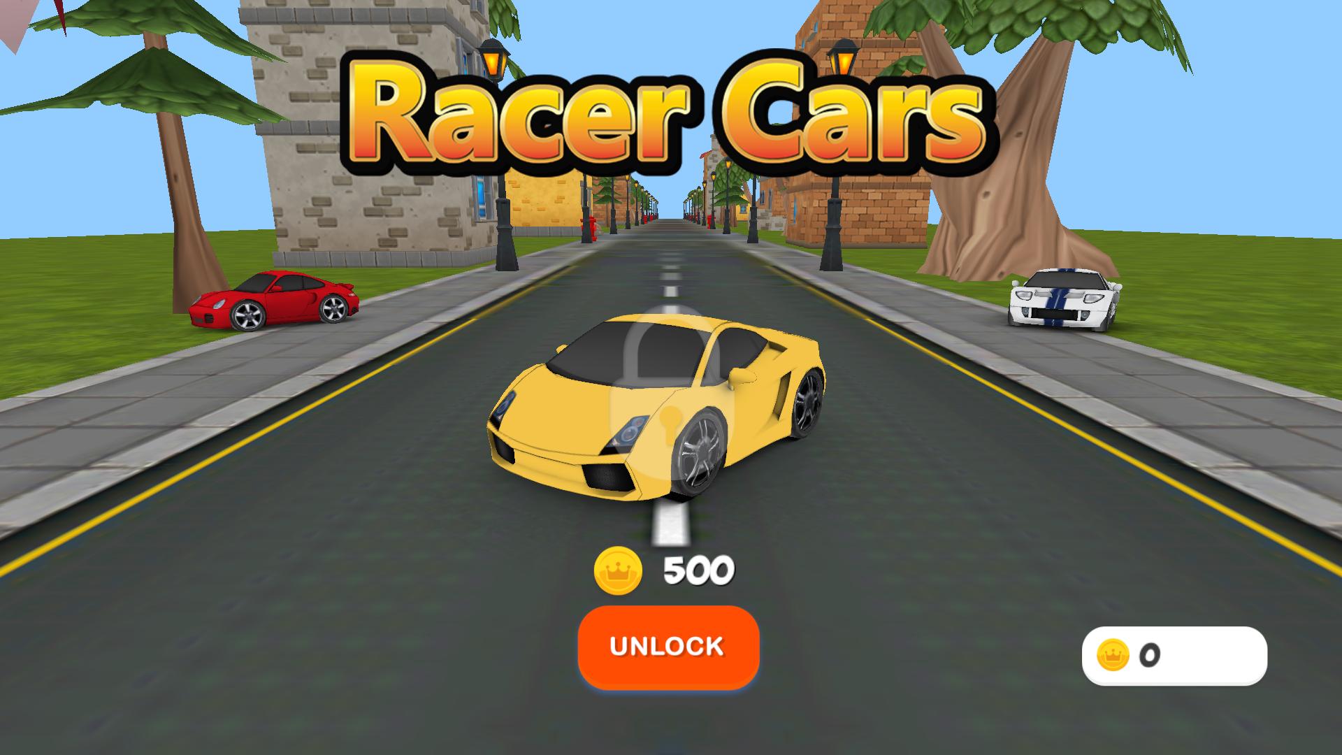 Racer Cars 3D for TV screenshot 4