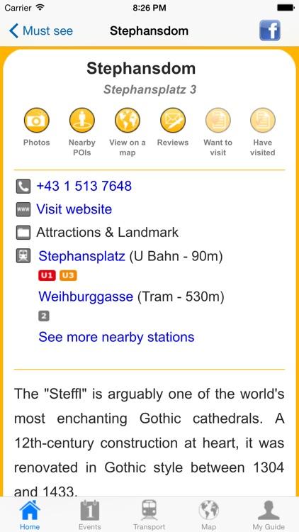 Vienna Travel Guide Offline screenshot-3
