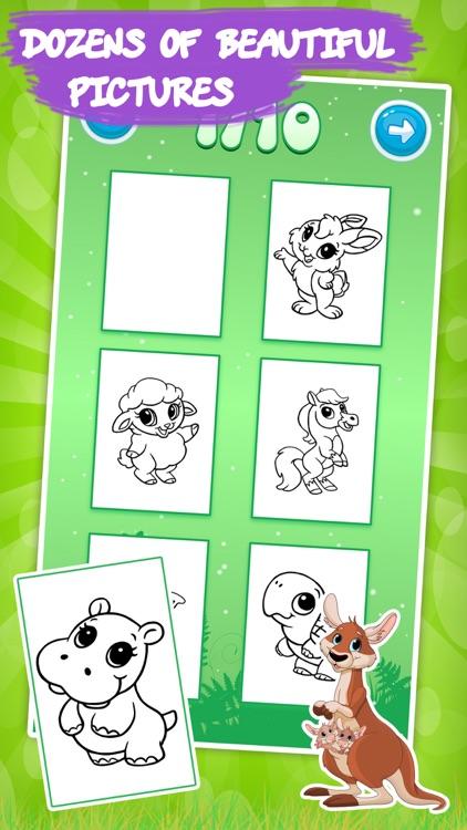 Best coloring book: Animals screenshot-3