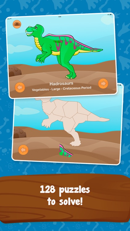 Dinosaur Builder Puzzles for Kids Boys and Girls screenshot-3