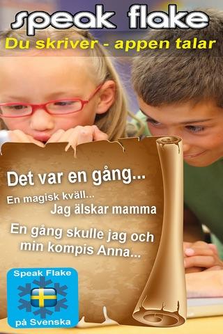 SpeakFlake - på svenska screenshot 1