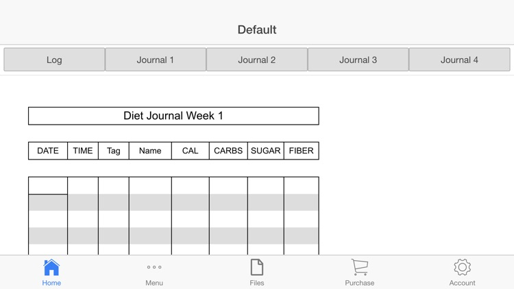 Nutrition Tracker screenshot-0