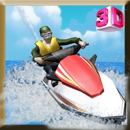 Jet Ski Simulator - Motorboat driving & parking simulation game