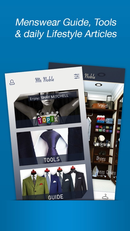 Mr. Noble - The Gentleman Lifestyle App