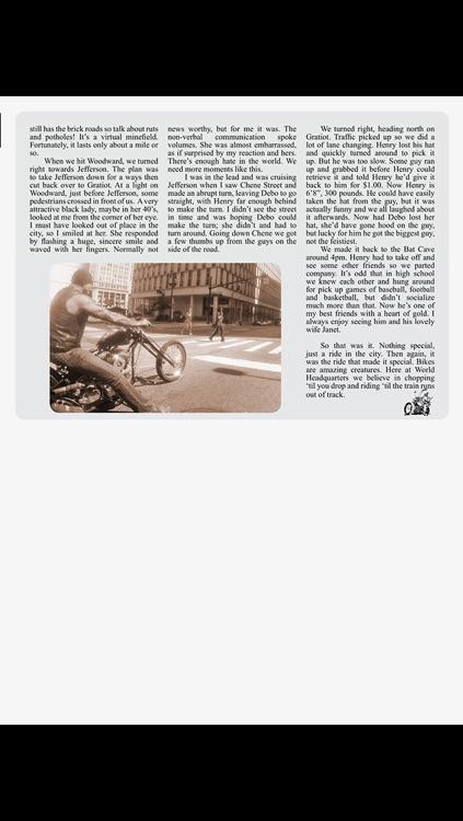 The Horse BackStreet Choppers Magazine