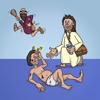 Miklos Geyer - Play Bible - arrange bible scenes and listen to the story artwork